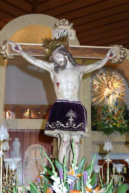 Imagen del Santísimo Cristo de la Cruz. FOTO: EPDA