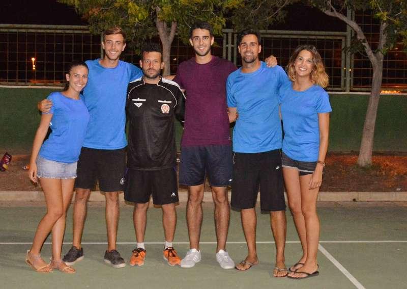 Imagen de los organizadores del torneo.