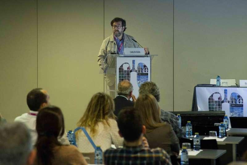 Carlos Egea durante su intervención. EPDA
