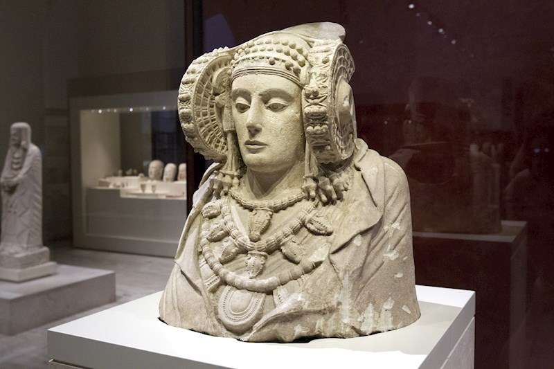 Imagen de archivo de la Dama de Elche. EFE/Archivo