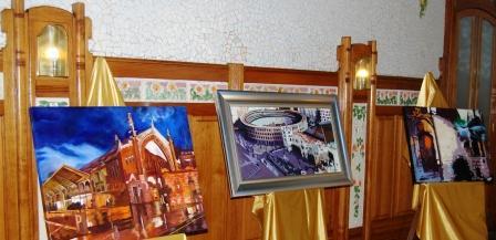 Exposición de pintura ?Valencia nuestra ciudad?. Foto EPDA