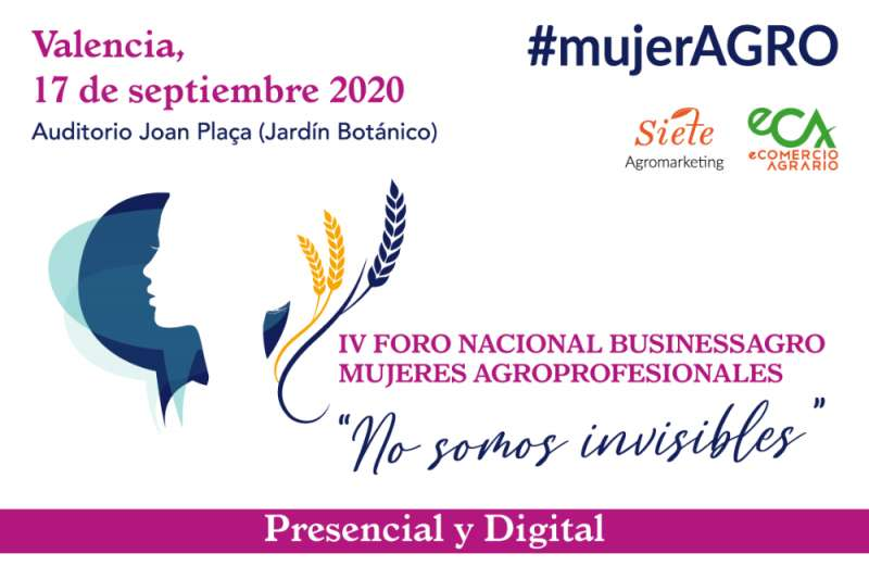 Cartel IV Foro Mujer Agro./PDA
