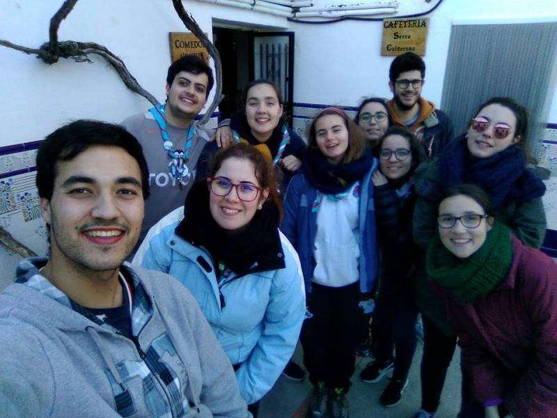 Participantes en la convivencia. EPDA