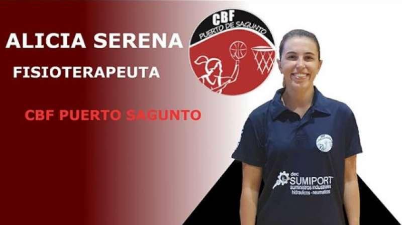 La fisioterapeuta Alicia Sereno