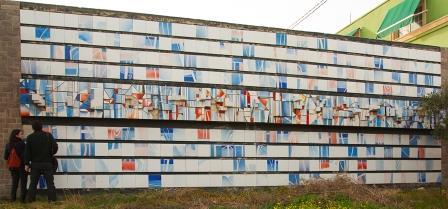 El autor de esta obra de 11,4 metros de longitud colaborará en su reconstrucción. FOTO:  HÈCTOR JUAN SANMARTÍN.