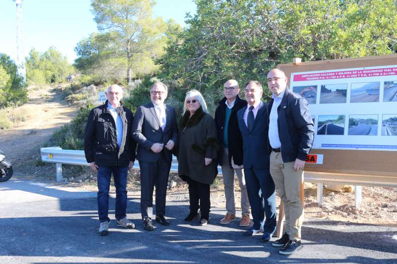 Concluyen las obras en la carretera de Castellnovo