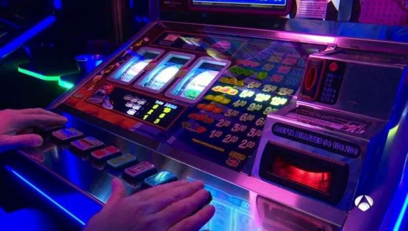 Máquina de juego de azar.