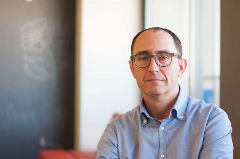 Miguel Ángel Santos, cofundador del aparato anticovid-19. / EFE