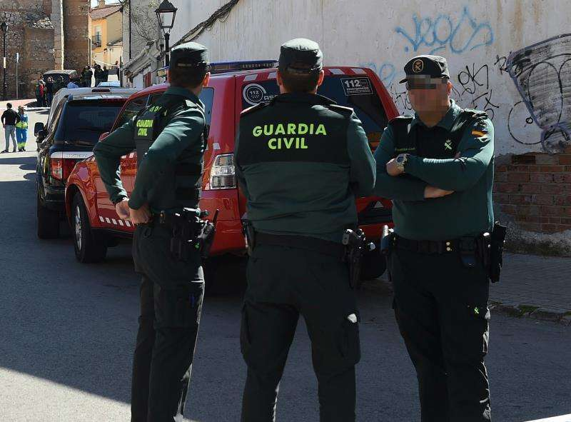 Agentes de la Guardia Civil. / EPDA