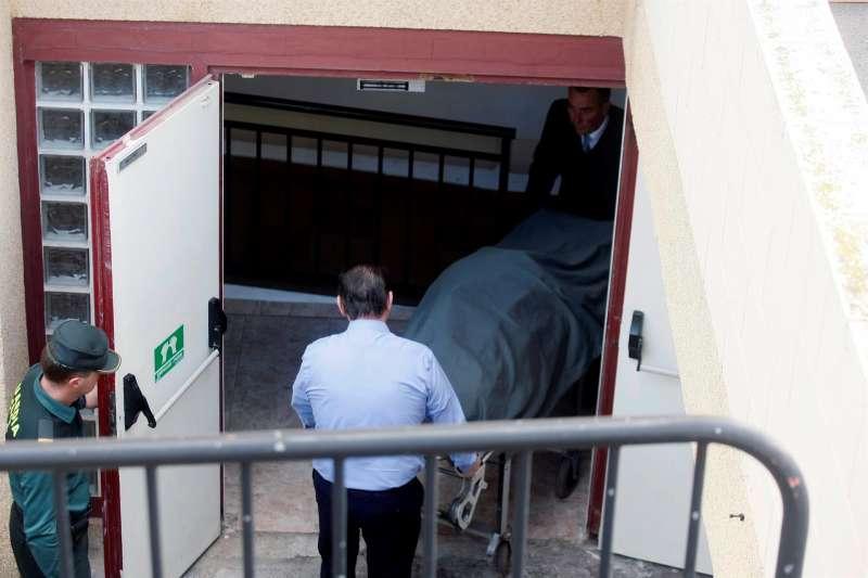 Imagen de archivo de un asesinato. EFE/Manuel Lorenzo/Archivo