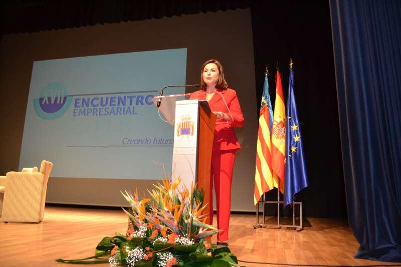 La presidenta de Asecam. EPDA