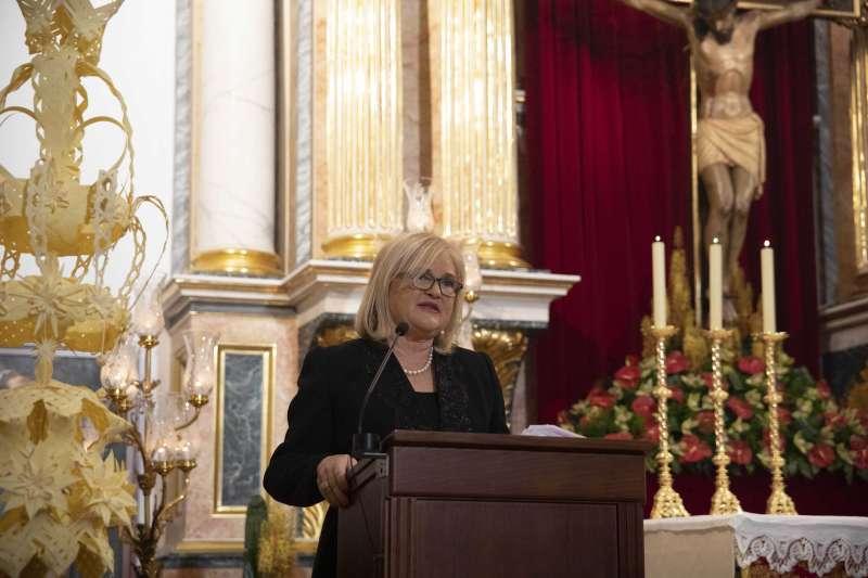 La presidenta del Ateneo, Carmen de Rosa