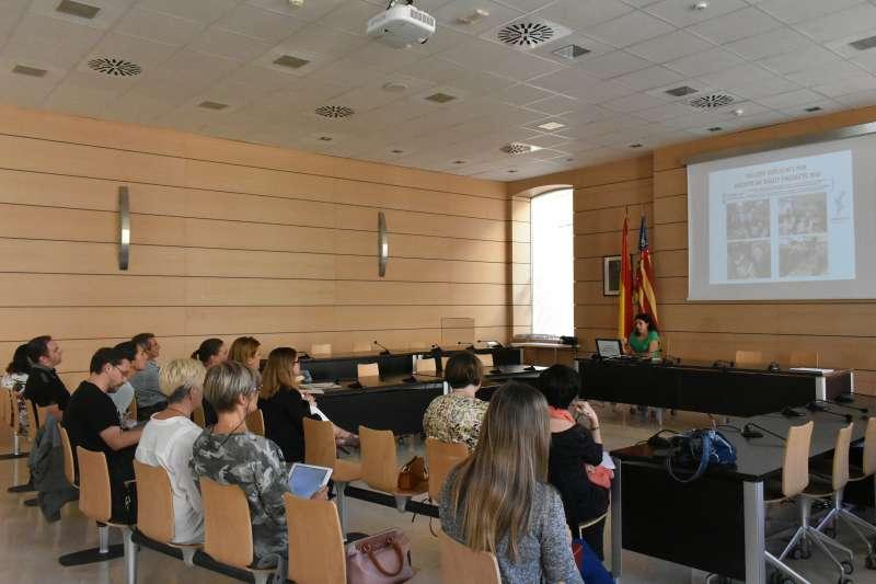 Presentación del catálogo de servicios de salud. EPDA