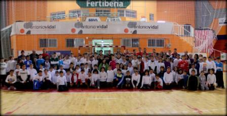 Imagen de grupo de los escolares. FOTO: PEPA CONESA