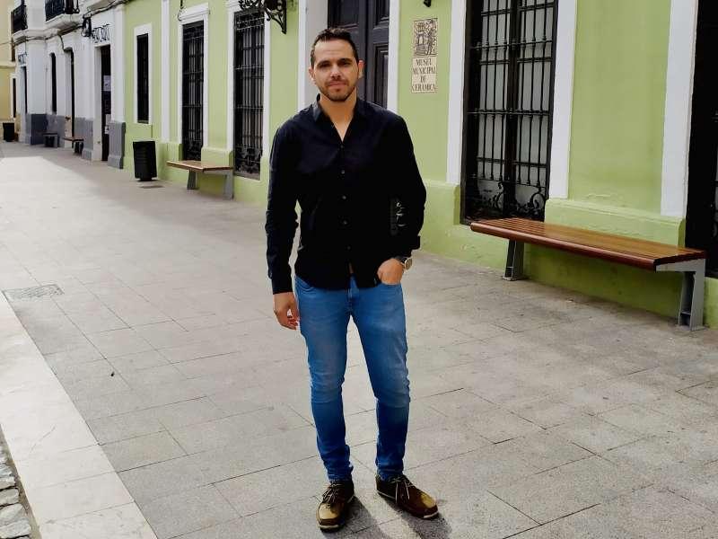 Ibáñez en el Museo de la Cerámica