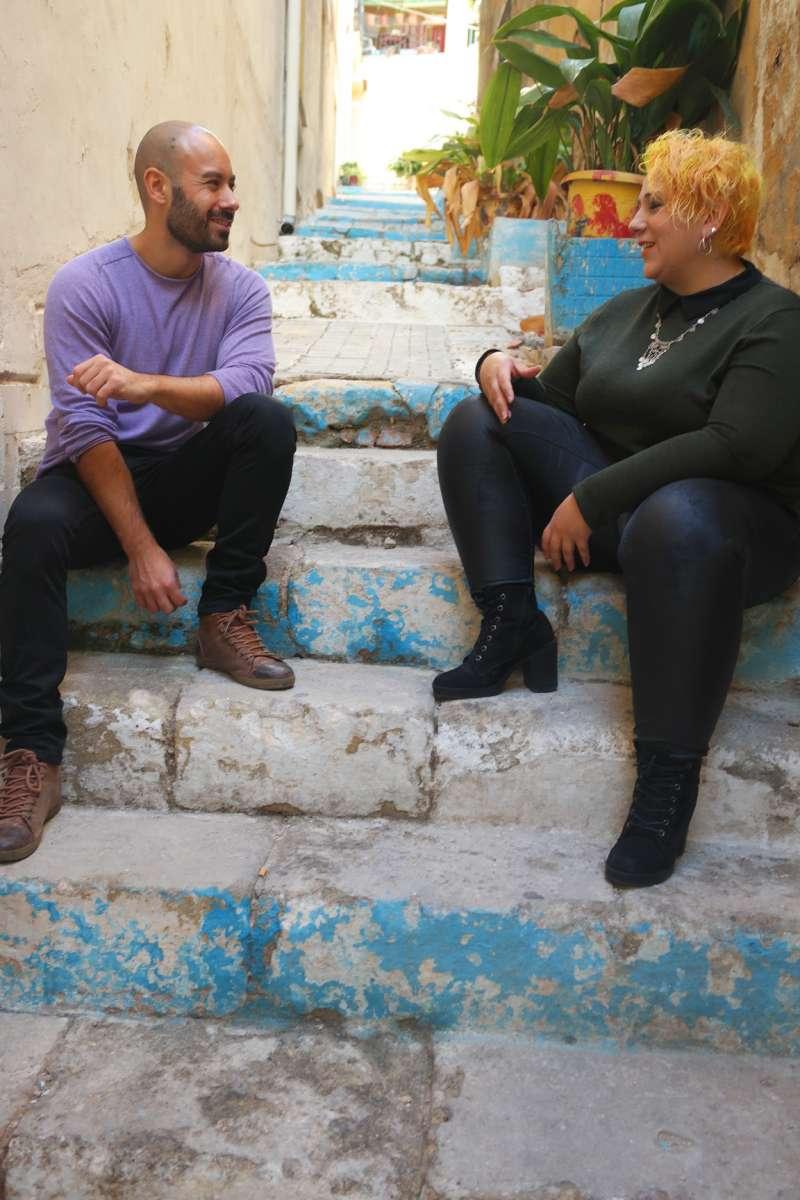 Xavier López y Vanessa Romero