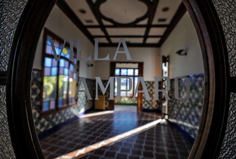 Interior de Villa Amparo. EFE