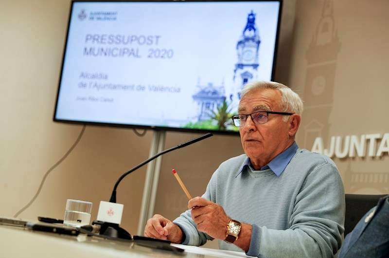 El alcalde de Valencia, Joan Ribó. EFE/Archivo