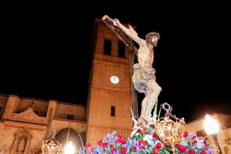 Imagen de archivo dela celebración de Semana Santa.