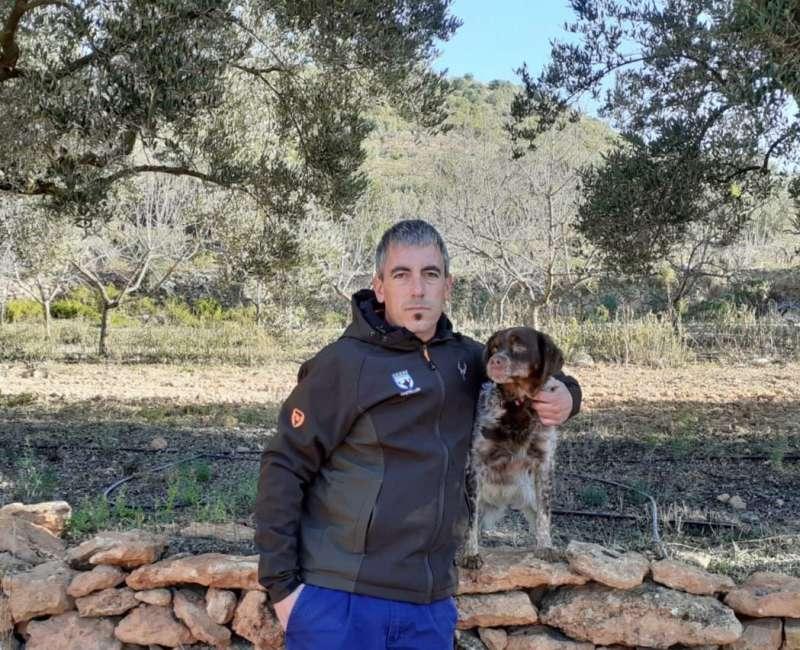Pablo Molina, nuevo delegado provincial de Caza en Castellón. -EPDa
