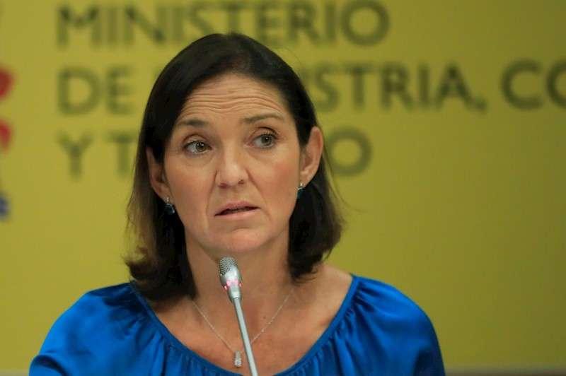 La ministra de Industria, Comercio y Turismo en funciones, Reyes Maroto, en una imagen de archivo. EFE/ Fernando Alvarado