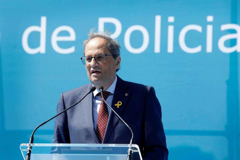 El presidente de la Generalitat, Quim Torra. EFE