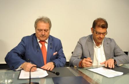 Alfonso Rus y José Manuel Haro. FOTO: DIVAL