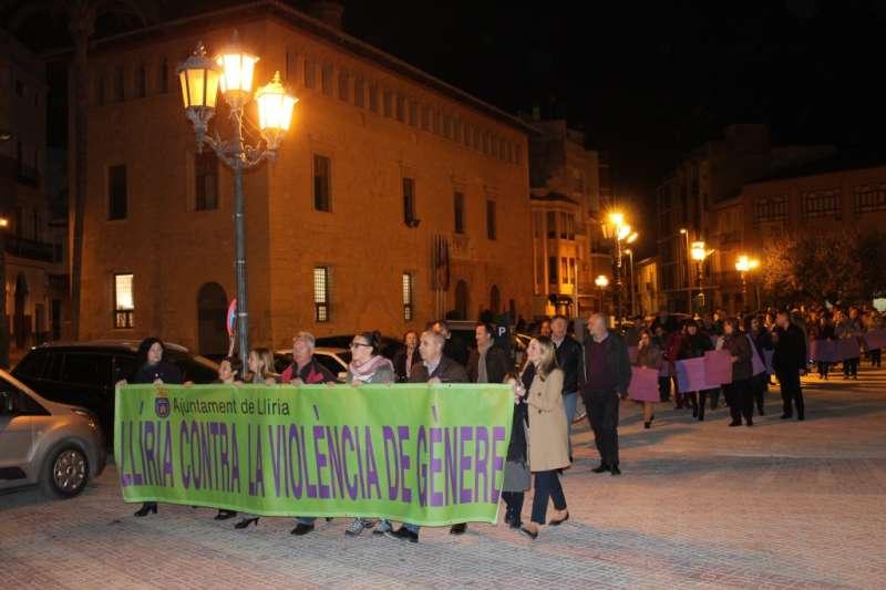 La manifestación de Llíria.//EPDA