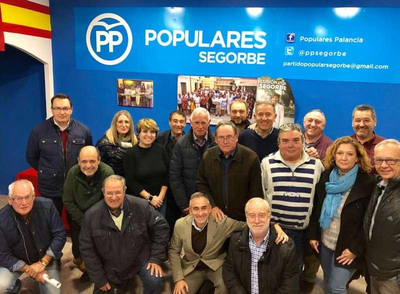 Reunión comarcal del PP