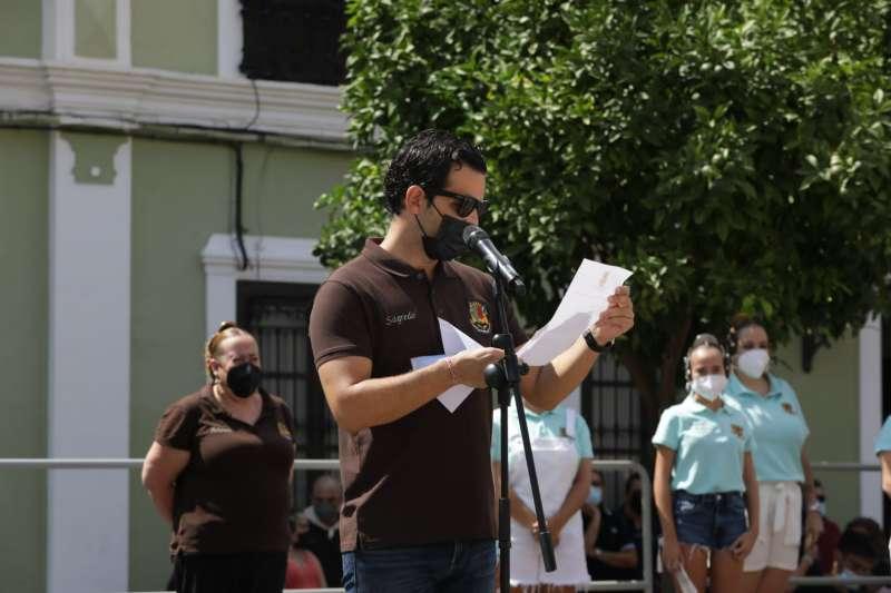 El alcalde de Paterna, Juan Antonio Sagredo, en la lectura de los Premios de las Fallas. EPDA