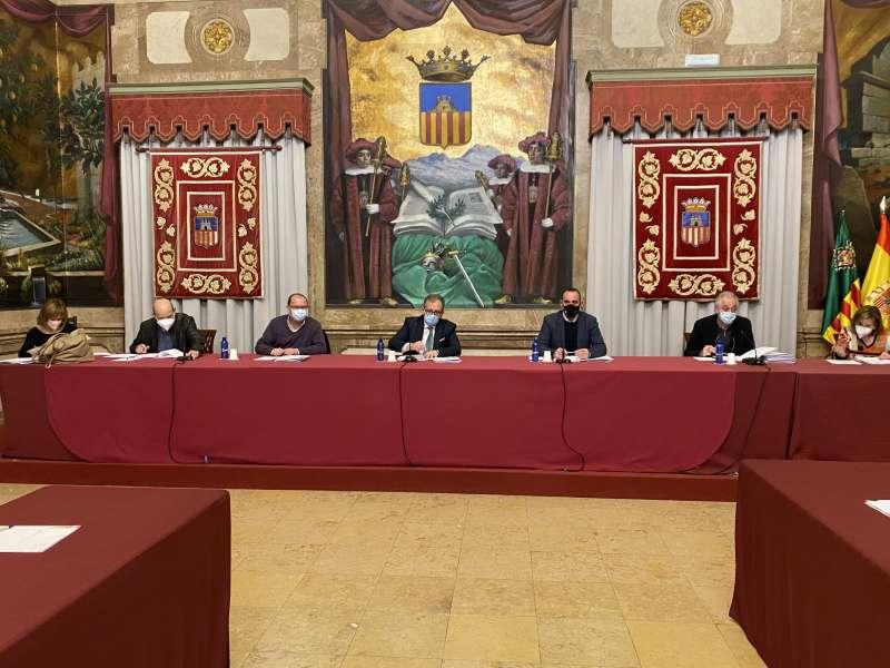 Mesa presidencial del Consorcio