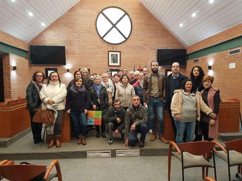 Primer grupo del taller de empleo del Ayuntamiento de Aldaia. EPDA