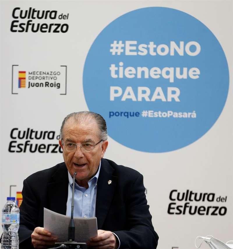 Paco Raga deja el cargo de consejero delegado del Valencia Basket por jubilación. EFE.