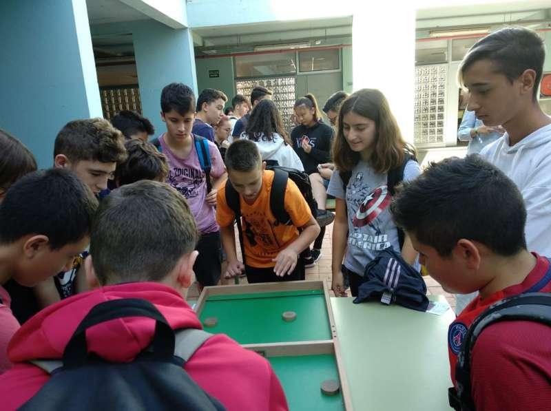 Participantes del programa Luna Llena de Sagunt. EPDA
