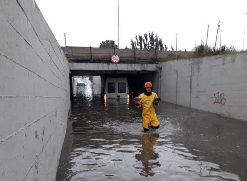 Rescate bomberos. EFE