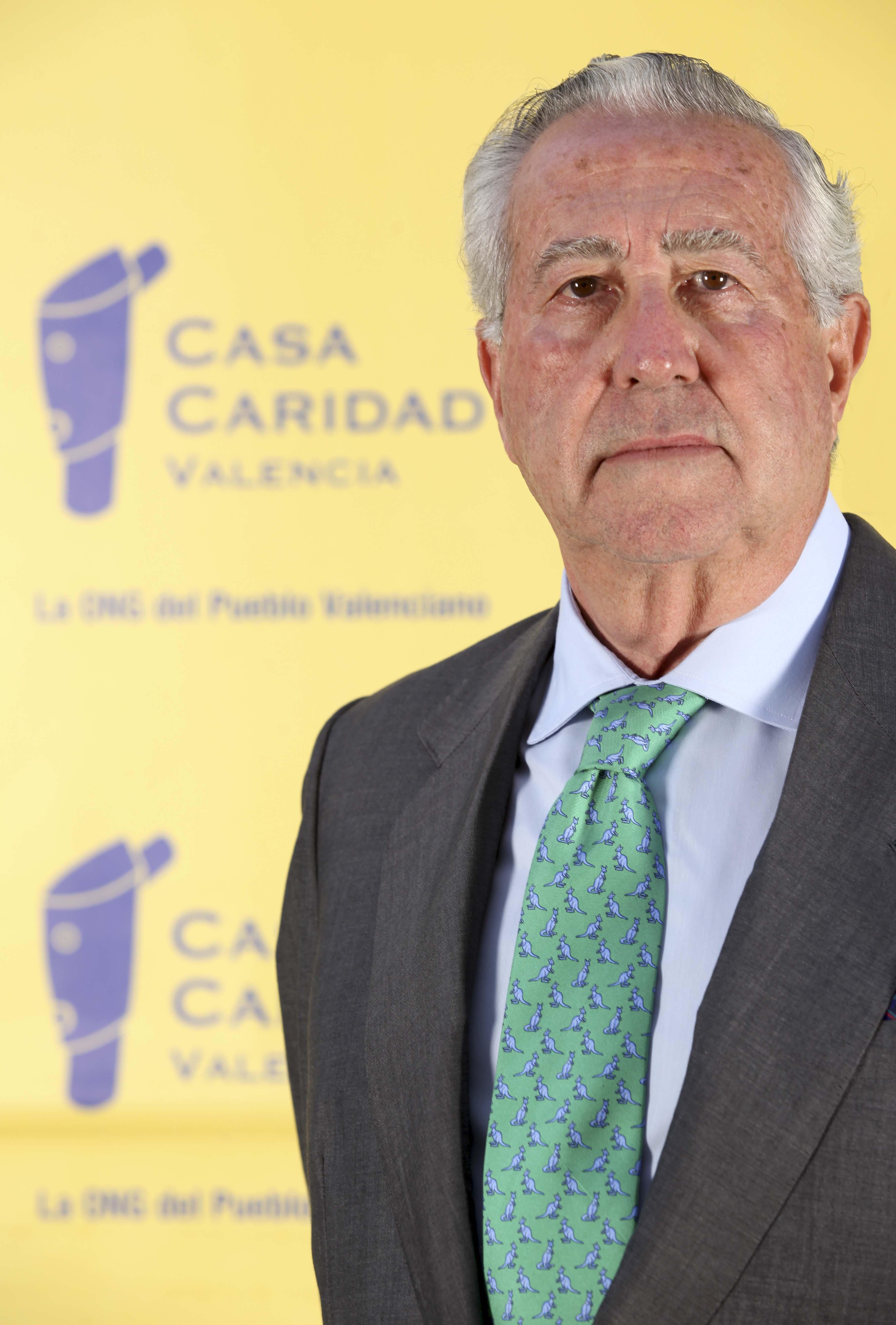 Antonio Casanova, Presidente de Casa Caridad.