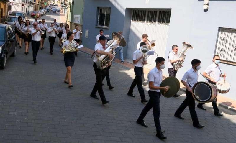 Pasacalle de la Unión Musical. Foto: Archivo