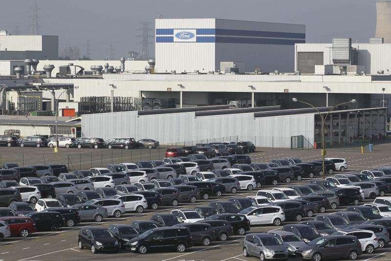 Factoría de Ford en Bélgica. EFE/Archivo