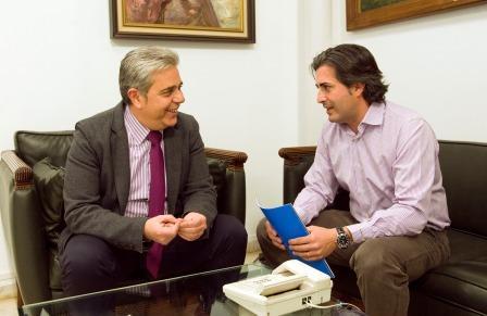Juan José Medina y José Miguel Tolosa. Foto: EPDA.