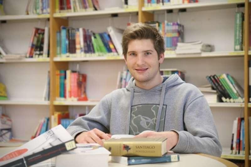 Enrique Carceller, alumno de Caxton College. EPDA