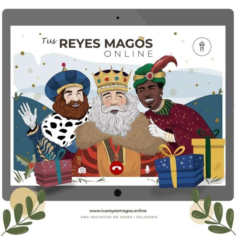 Los Reyes Magos. EFE