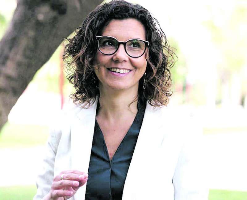 Candidata de Compromís, Isabel Martín