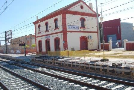 Imagen de archivo de la Estación de Almassora.