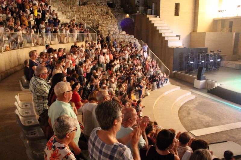 Imagen de la Gala Benéfica organizada por AFACAM el pasadi 17 de agosto en Sagunt. EPDA