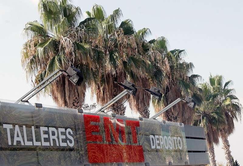 Imagen de las cocheras de la EMT de la ciudad de València. EFE/Archivo