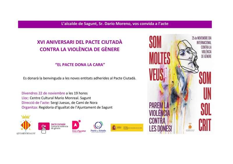 Sagunt contra la violencia de género. EPDA