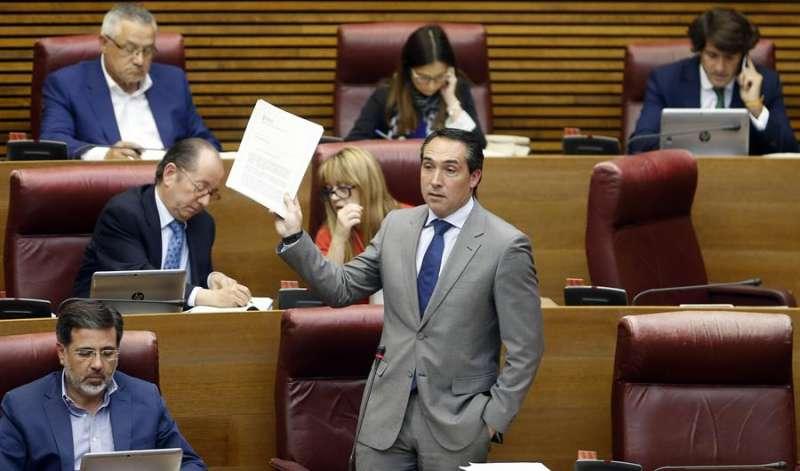El portavoz de Economía del PP, Rubén Ibáñez.