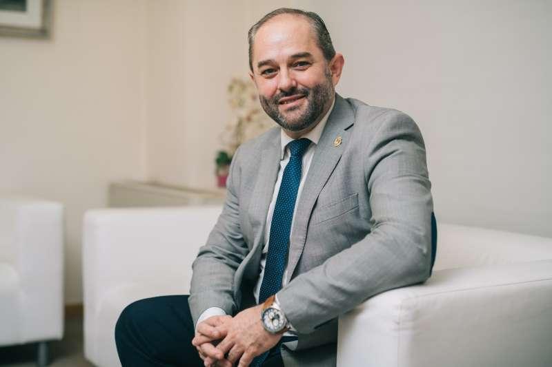 Salvador Puigdengolas Rosas, decano del Colegio Oficial de Ingenieros Industriales de la Comunitat Valenciana (COIICV). -EPDA