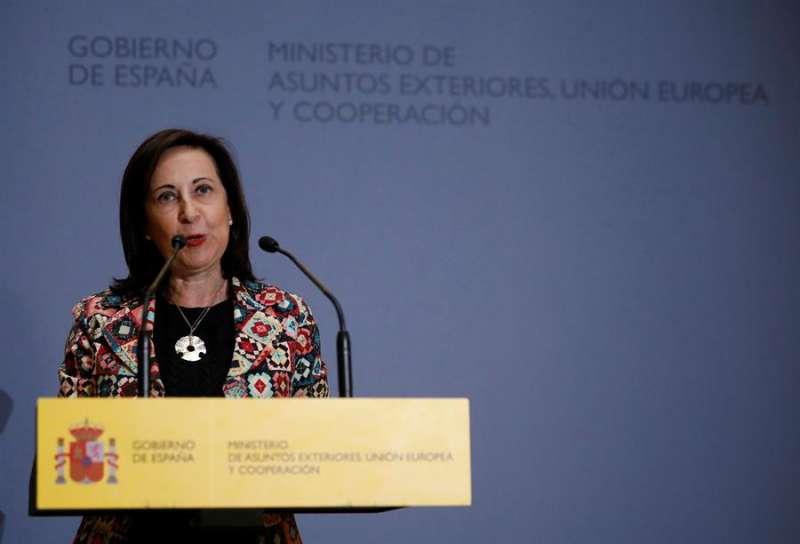 La ministra de Defensa en funciones, Margarita Robles, en una imagen reciente. - EFE