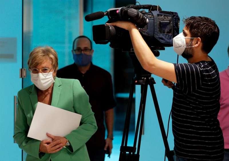 La consellera de Sanidad , Ana Barceló, en una imagen reciente. EFE